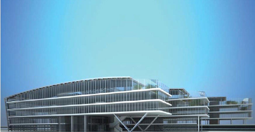 Nueva sede de iberia ines ingenieros for Oficinas de iberia